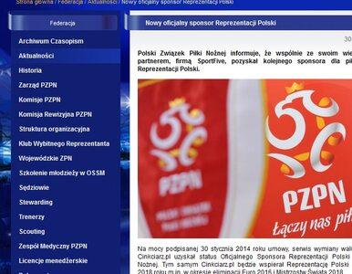 Cinkciarz.pl oficjalnym sponsorem piłkarskiej Reprezentacji Polski