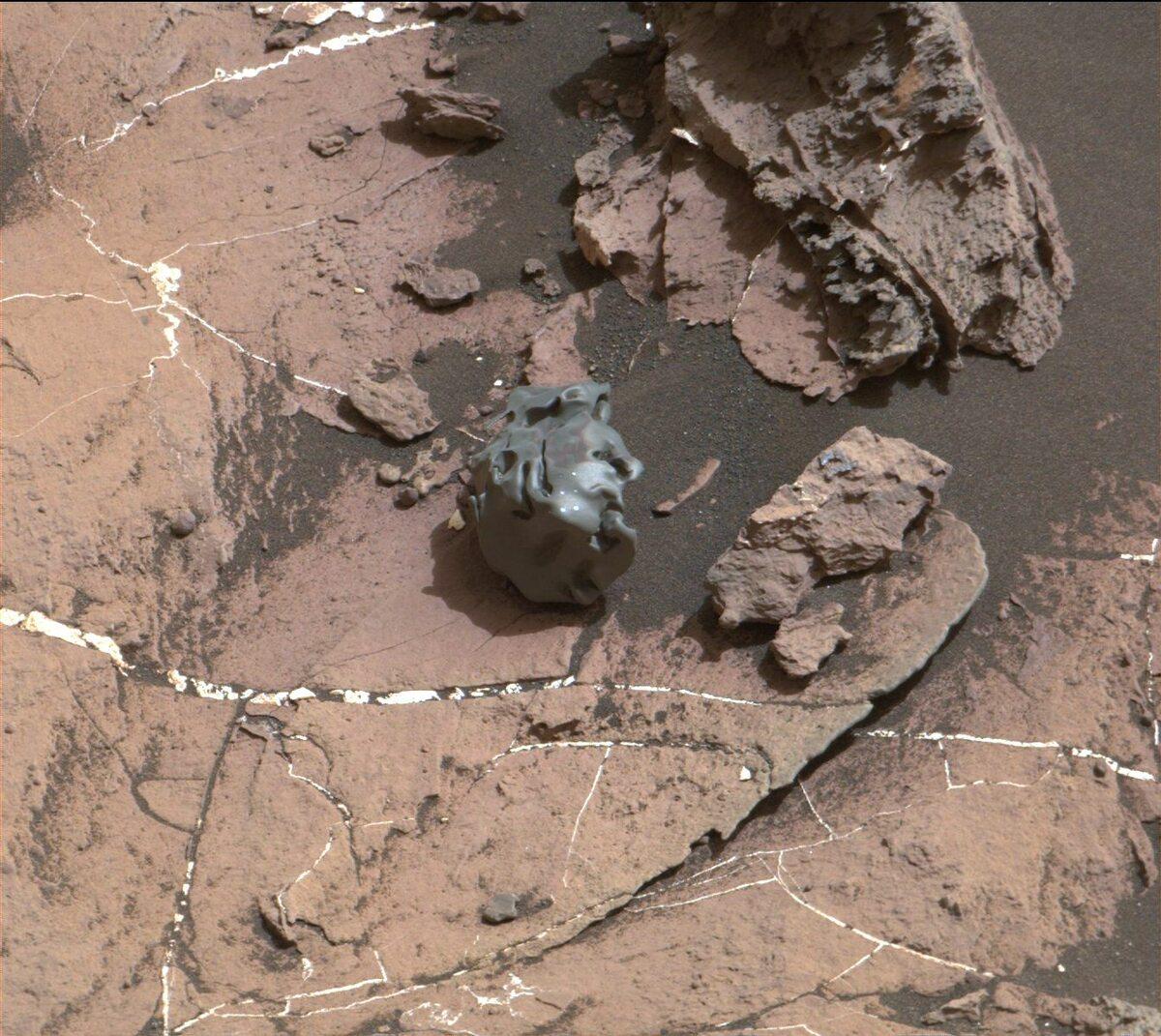 Meteoryt znaleziony na Marsie przez Curiosity