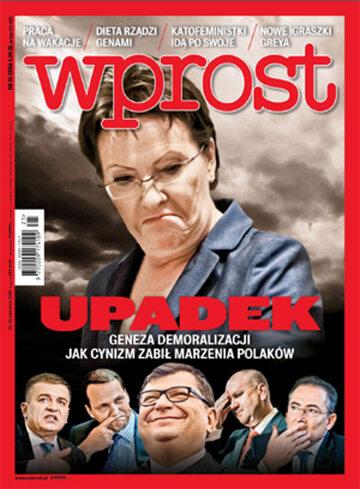 Okładka tygodnika Wprost nr 25/2015 (1684)