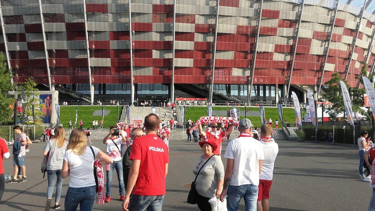 Przed meczem Polska - Serbia