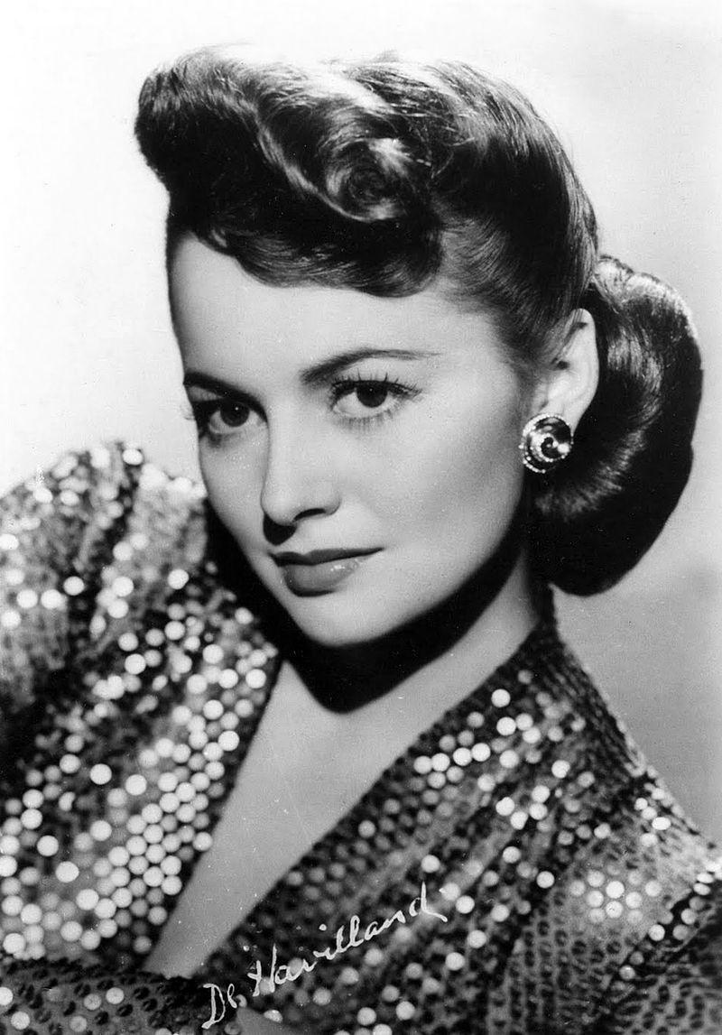 Olivia de Havilland w 1945 roku