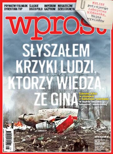 Okładka tygodnika WPROST: 15/2013