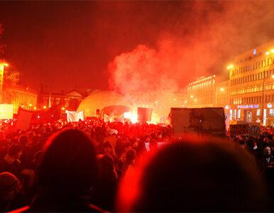 Są zarzuty dla uczestników protestów przeciw ACTA