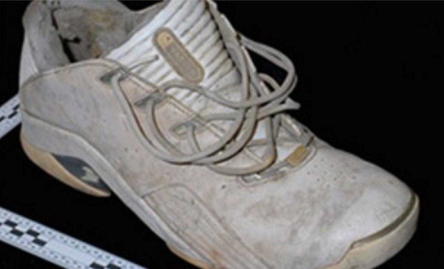 Drugi znaleziony but