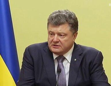 Ukraiński transport humanitarny jedzie w stronę Ługańska....
