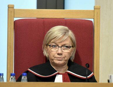 """Sędzia Przyłębska wydała oświadczenie na zwolnieniu. """"Nie chciałam..."""