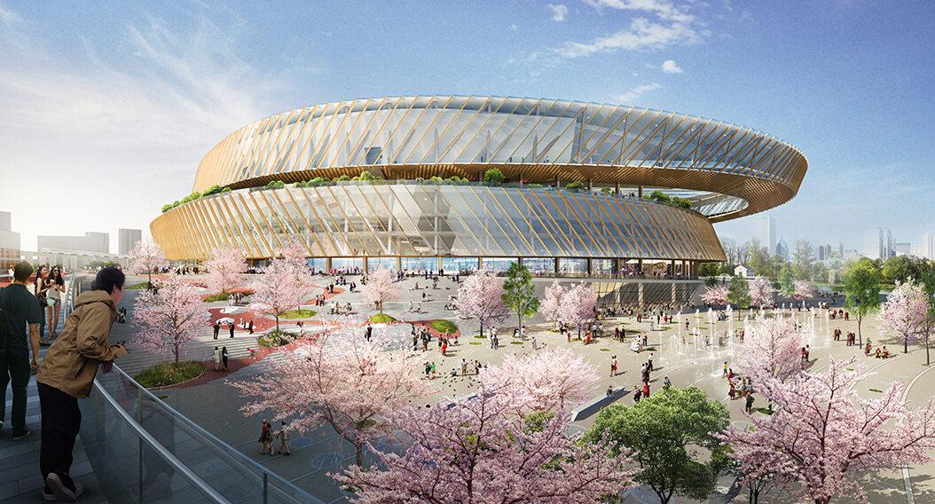 Stadion w Szanghaju