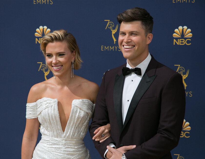 Scarlett Johansson i Colin Jost