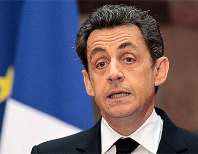 """Sarkozy reaguje na obniżenie ratingu. """"Ważne decyzje pod koniec miesiąca"""""""