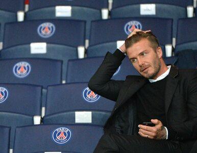Beckham spełnia marzenia. Spotkał się z chorym fanem
