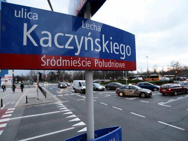 Nie będzie ulicy Lecha Kaczyńskiego w Warszawie. Drogowcy zawiesili...