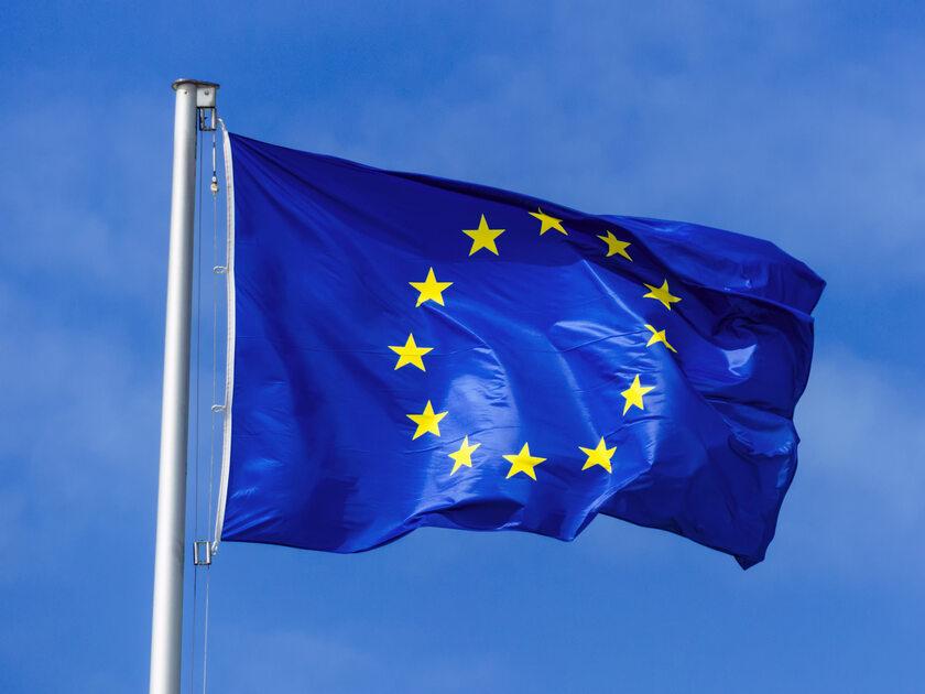 Flaga UE, zdjęcie ilustracyjne