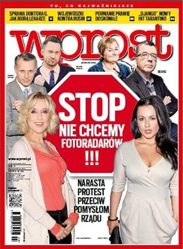 Okładka tygodnika WPROST: 3/2013