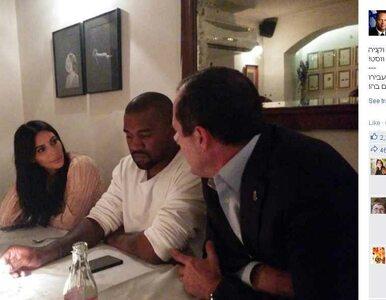 Izraelski portal usunął Kardashian ze zdjęć z Kanye Westem