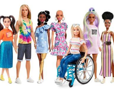 Barbie z bielactwem, rudy Ken. Producent lalek stawia na różnorodność