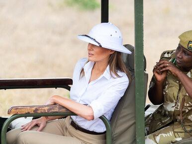 Melania Trump w ogniu krytyki. Taki strój założyła podczas wizyty w Afryce
