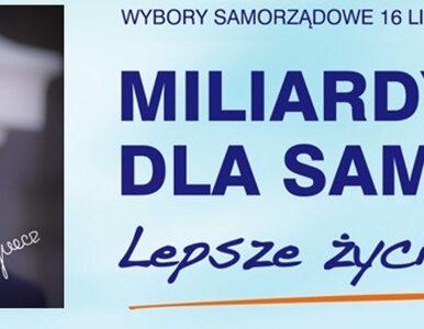 """""""Miliardy dla samorządów"""", czyli PO zaczyna kampanię pod ostrzałem pytań"""