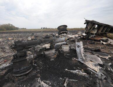 Szczątki rosyjskiego systemu Buk niedaleko wraku MH17