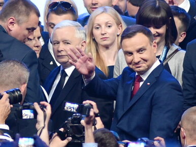 Trwa spotkanie prezydenta Andrzeja Dudy z Jarosławem Kaczyńskim