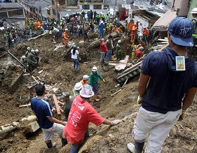 Rośnie liczba ofiar lawiny błota w Kolumbii