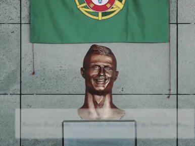 Pokraczna rzeźba Ronaldo po ponad 1,5 roku zniknęła z lotniska na Maderze