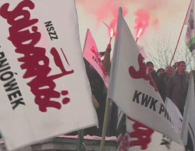 Zaostrza się protest przed siedzibą JSW. Związki żądają dymisji prezesa
