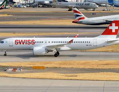 Przełożono ponad 100 lotów Swiss. Wszystko przez usterkę silnika Airbusa...