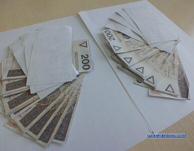 Głogów. Oddał siostrze 20 tys. zł. Okazało się, że banknoty wydrukował w...