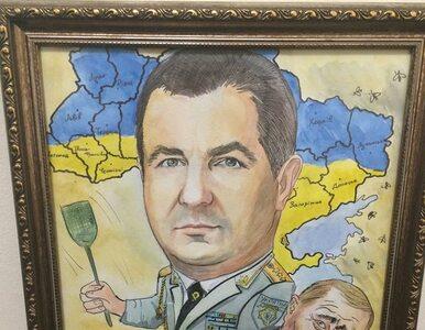 Klaps dla Putina? Nietypowy prezent dla ukraińskiego ministra