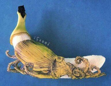 Ten artysta potrafi wyczarować z bananów prawdziwe dzieła sztuki