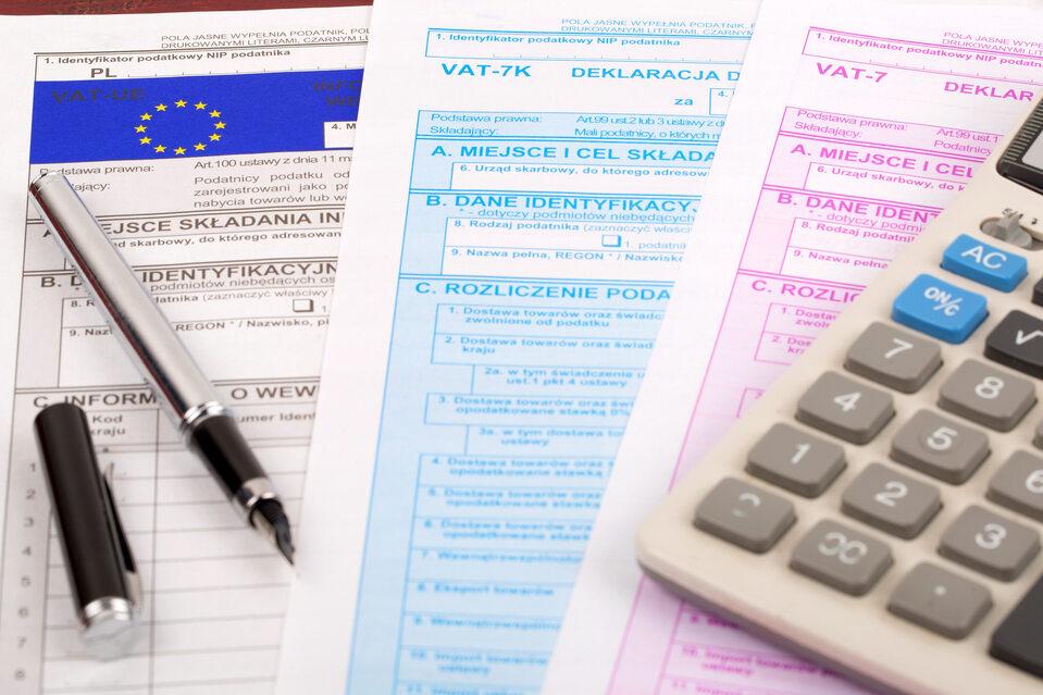 VAT, podatki (zdj. ilustracyjne)