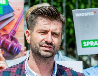 Śmiszek złożył zawiadomienie do prokuratury na działanie Ziobry....