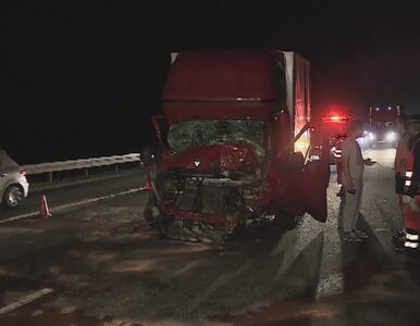 Karambol na autostradzie A4. Siedem osób rannych