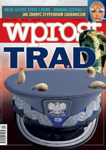 Okładka tygodnika Wprost nr 44/2003 (1092)