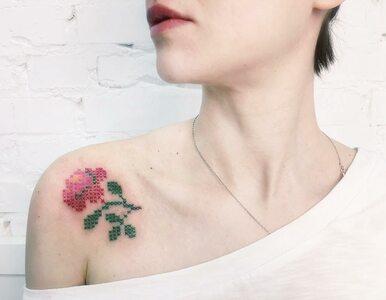 Małe dzieła sztuki, czyli haftowane tatuaże. Hit czy kit?