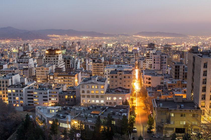 Teheran, zdjęcie ilustracyjne