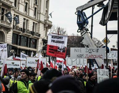 Protest rolników z AGROunii w Warszawie może potrwać nawet 8 godzin....
