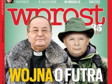 """Wojna o futra i afera """"królowej Zakopanego"""". Co w nowym """"Wprost""""?"""
