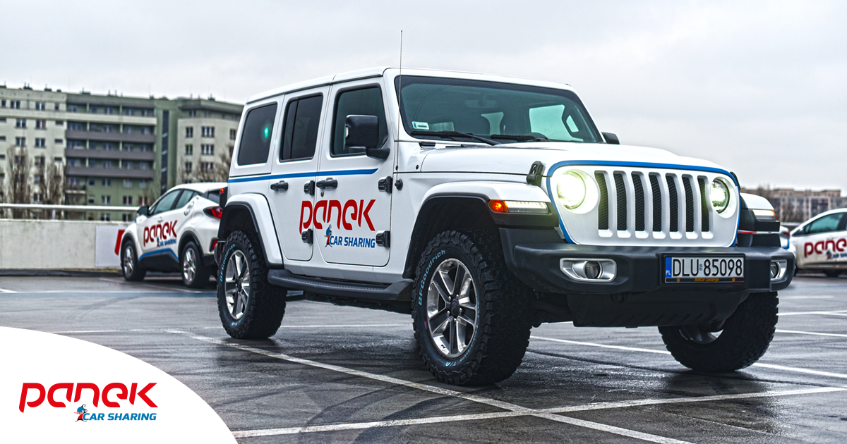 Corvetta Stingray C3 i Jeep Wrangler w Panek CS