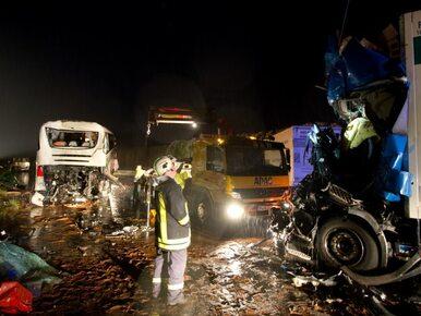 Wypadek polskiego autokaru: psycholog czeka na uczniów