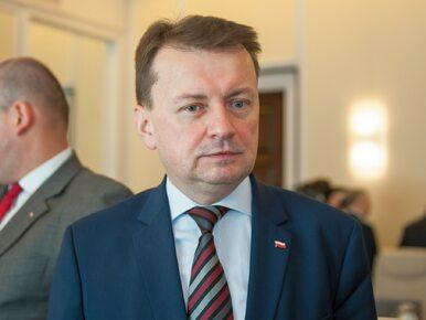 Obozy kontenerowe dla uchodźców w Polsce? Błaszczak wyjaśnia pomysł resortu