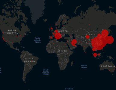 Mapa koronawirusa. Aktualizowane dane o zakażeniach i krajach występowania