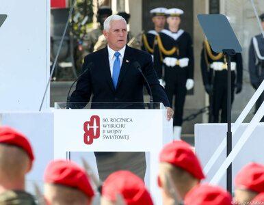 Mike Pence: Polska udowodniła, że jest krajem bohaterów