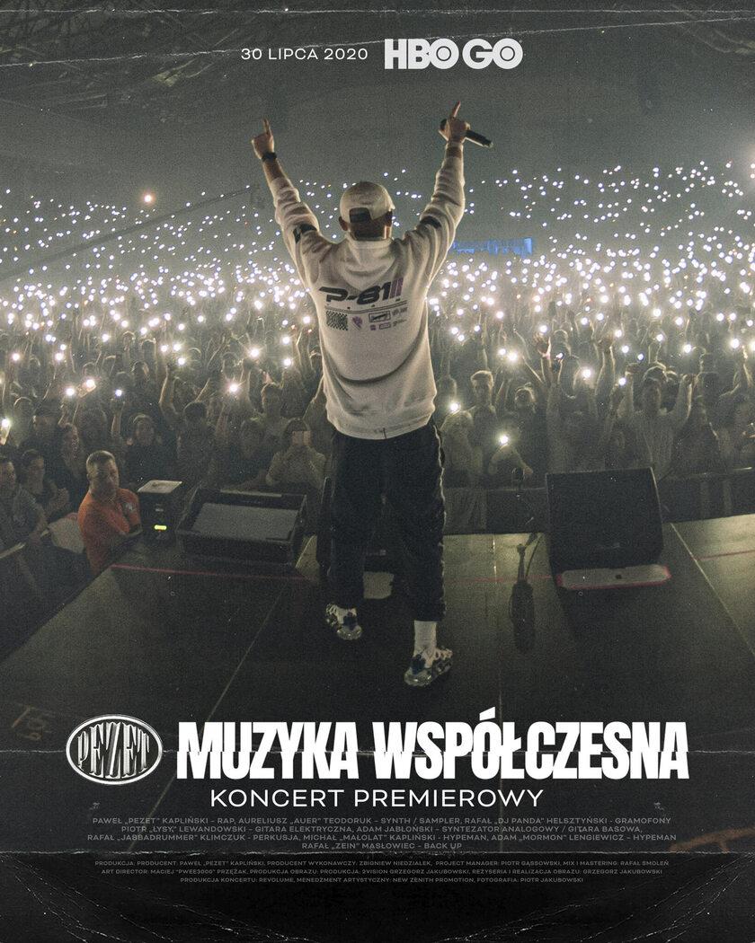 """Plakat """"Pezet Muzyka Współczesna – koncert premierowy"""""""
