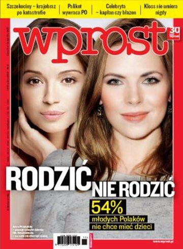 Okładka tygodnika WPROST: 11/2012