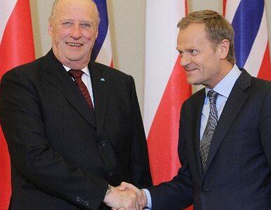 Dostaniemy pieniądze od Norwegów. Tusk rozmawia z królem