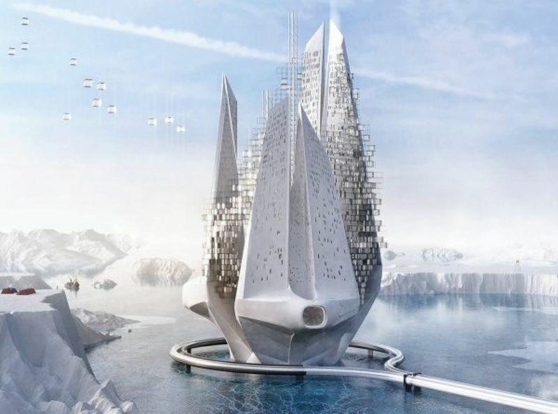 Heal-Berg: Reverse Climate Changing Machine - Luca Beltrame, Saba Nabavi Tafreshi. Włochy, Iran
