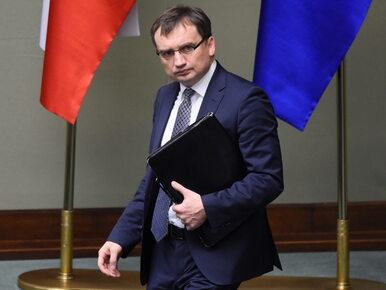 """Ziobro apeluje do Gersdorf o """"niezwłoczne"""" zwołanie pierwszego..."""