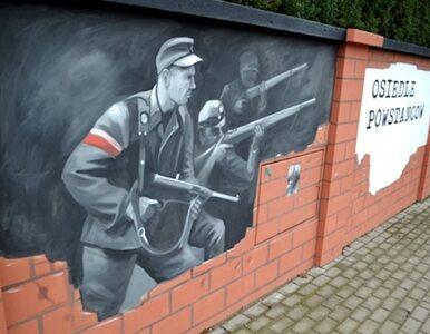 Skandaliczny błąd na muralu w Łomiankach. Uwieczniono zbrodniarzy wojennych