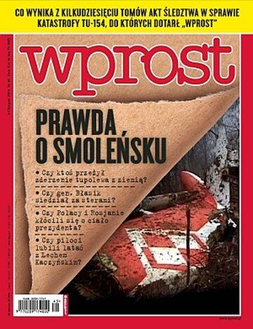 Okładka tygodnika Wprost nr 45/2010 (1448)